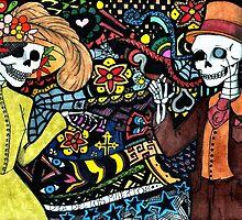 Dia De Los Muertos by Cuiatl