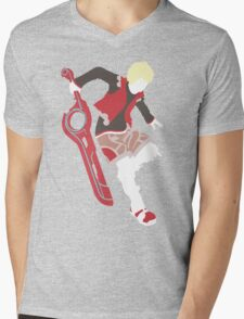 Shulk Vector Mens V-Neck T-Shirt