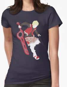 Shulk Vector Womens Fitted T-Shirt