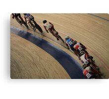 Cycle race  Canvas Print