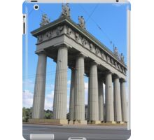 View of the Triumphal Arch in St. Petersburg iPad Case/Skin