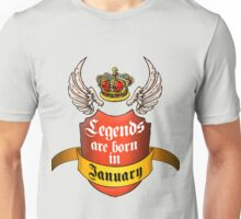 Legends January Unisex T-Shirt