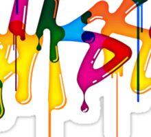 stussy full colours Sticker