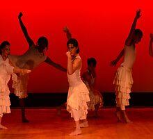 Bolivian Dance Troup  by Matsumoto