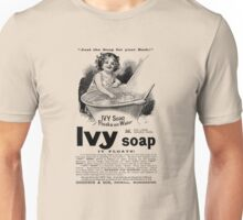 1894 Ivy Soap Advertisement Unisex T-Shirt