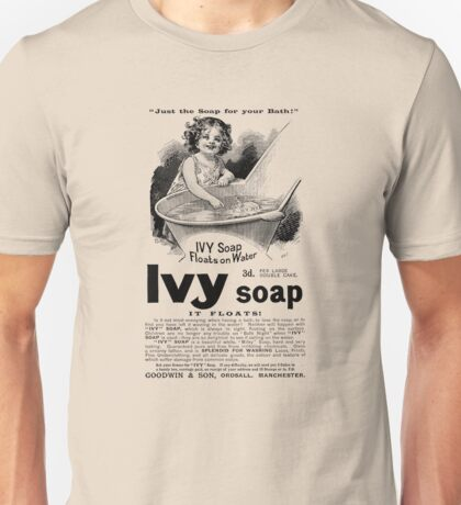 1894 Ivy Soap Advertisement Unisex T-Shirt