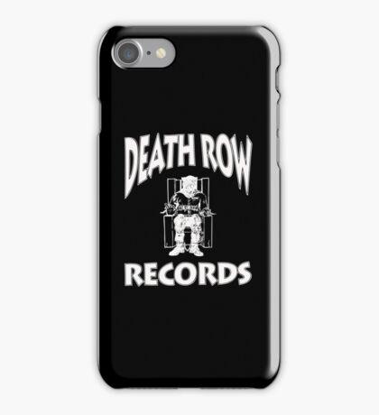 DEATH ROW PHONE CASE  iPhone Case/Skin