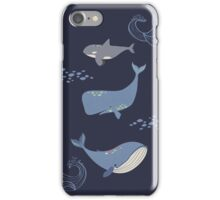 Whales of the Sea iPhone Case/Skin