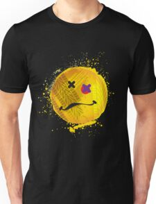 Smiley face - roadkill Unisex T-Shirt