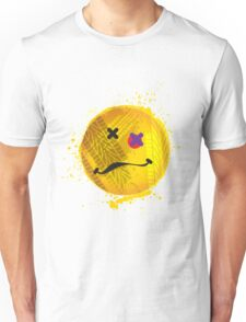 Smiley face - roadkill Unisex T-Shirt