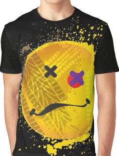Smiley face - roadkill Graphic T-Shirt