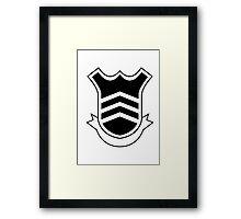 Persona 5 School Emblem/Logo - Inverted Framed Print