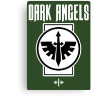 Dark Angels I - Warhammer Canvas Print