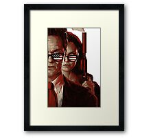 the americans Framed Print