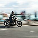 Brighton Biker by JLaverty