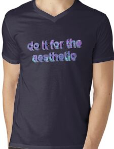 AESTHETIC  Mens V-Neck T-Shirt