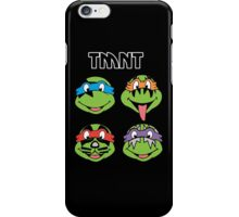 TMNT and KISS crossover iPhone Case/Skin