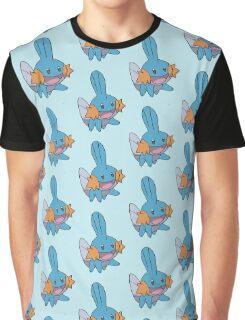 Mudkip Pokemon Graphic T-Shirt