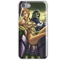 Skeletor & Teela iPhone Case/Skin