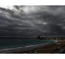 Antes de la tormenta Photographic Print