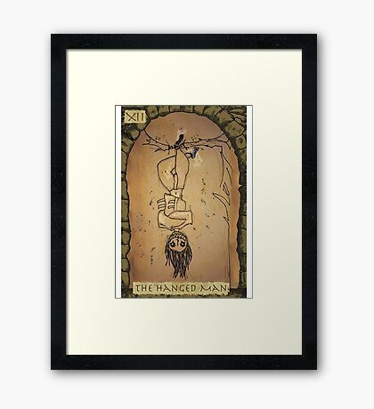 The Hanged man Framed Print