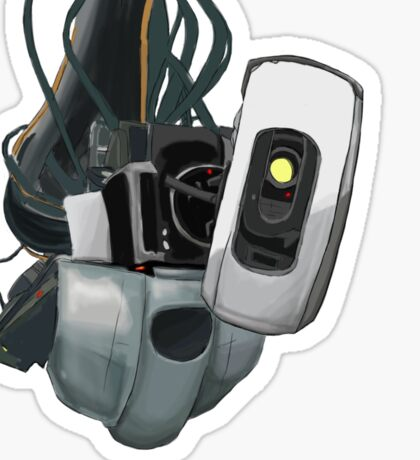 GLaDOS Portal 1 and 2 Sticker