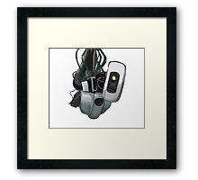GLaDOS Portal 1 and 2 Framed Print