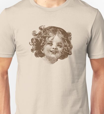 Happy Head - Sepia Unisex T-Shirt