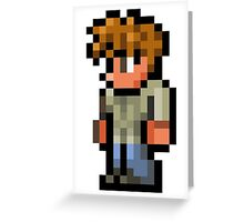 Terraria the guide Greeting Card