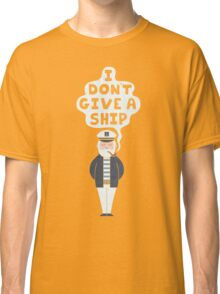 Indifferent Captain Classic T-Shirt