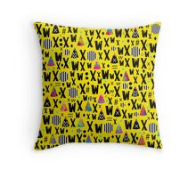 A.A. Y. ix iv Throw Pillow