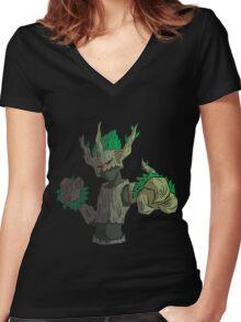 Trevenant Women's Fitted V-Neck T-Shirt
