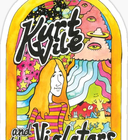 Kurt Vile  Sticker