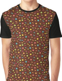 Choclate and Sprinkles  Graphic T-Shirt