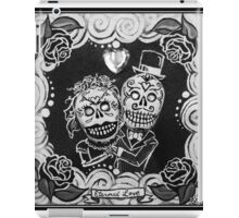 Eternal Love Skelly Couple iPad Case/Skin