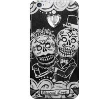 Eternal Love Skelly Couple iPhone Case/Skin
