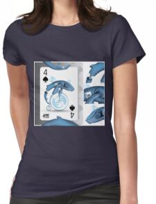 WhaloBike / Cards for my arts Womens Fitted T-Shirt