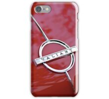 Red Valiant iPhone Case/Skin