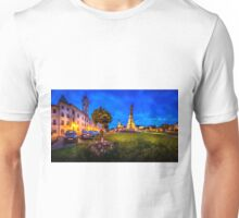 Panorama view of the Central Square Stefanikovo Namestie of Kremnica Unisex T-Shirt