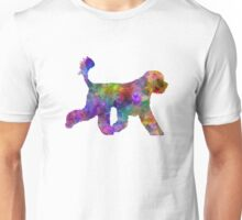 Portuguese Water Dog in watercolor Unisex T-Shirt