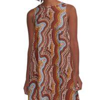 Desert Rains A-Line Dress