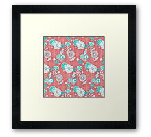 Blooms Between Framed Print