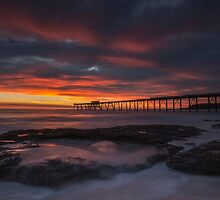 Sunrise at the Bay. by Warren  Patten