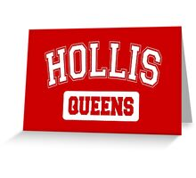 Hollis, Queens, NYC Greeting Card