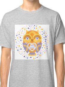 Happy Birthday Owl Classic T-Shirt