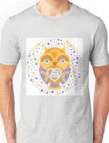 Happy Birthday Owl Unisex T-Shirt