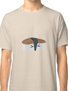Sushi with rice and mushroom Classic T-Shirt