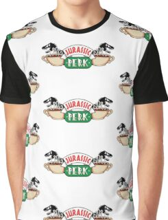 Jurassic Park x Central Perk - Jurassic World/FRIENDS parody Graphic T-Shirt