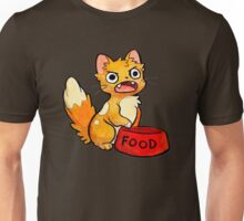 Kitty Needs Food Unisex T-Shirt