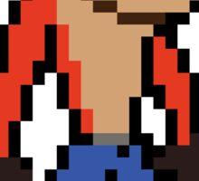Crash Bandicoot 8-bit Sticker